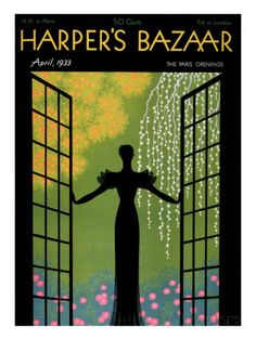 Harper's Bazaar, April 1933 Posters at AllPosters.com