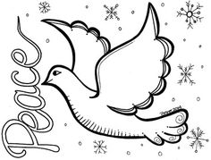 fashion coloring pages  peace dove in flight carrying an olive