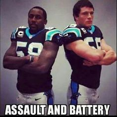 TD and Kuechly