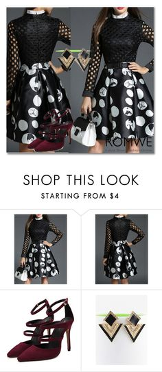 """""""6/11 romwe"""" by fatimka-becirovic ❤ liked on Polyvore"""