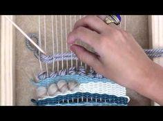 [he-loh chee-kee] HelloChiqui specializes in craft kits of all varieties. Weaving Loom Diy, Hand Weaving, Weaving Projects, Woven Wall Hanging, Tapestry Weaving, Weaving Techniques, Craft Kits, In Kindergarten, Crochet Yarn
