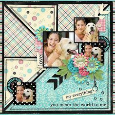 Page made by Conny using Paper Play #08   Templates by Akizo Designs (Digital Scrapbooking layout)