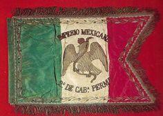 Archivo: Bandera del 2º Regimiento de Caballeria permanente.jpg