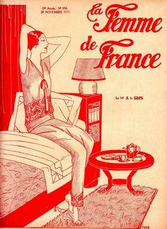 LE FEMME LE FRANCE 1927