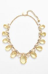 kate spade new york 'up the ante' stone statement necklace