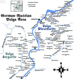 The Volga Germans - Wagner family came from the town of Frank on the western edge of the Volga area.
