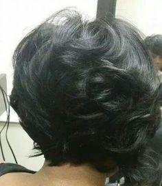 Medium Hair Styles, Natural Hair Styles, Short Hair Styles, Bob Styles, Short Sassy Hair, Short Hair Cuts, Short Bob Hairstyles, Haircuts, Beautiful Black Hair