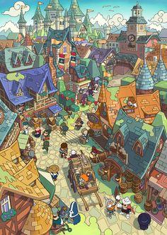 Fantasy-Life_ill_Royal-Capital-Castele.jpg (JPEG Image, 2893×4093 pixels) - Scaled (27%)