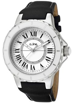 Price:$149.00 #watches a_line 20007, Showcasing a smart blend of contemporary and classical styles, this a_line timepiece is a beautiful addition to any woman's wardrobe.