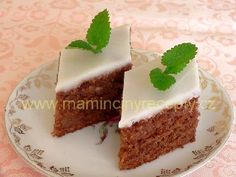 Sweet Cakes, Sweet Desserts, Carrot Cake, Carrots, Sweet Tooth, Good Food, Food And Drink, Cooking Recipes, Pudding