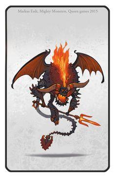 Markus Erdt - Artbook: Mighty Monsters - Board game illustrations