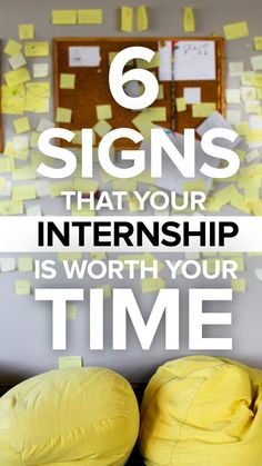 6 Signs Your Internship Is Worth Your Time