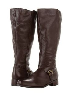 Fitzwell Extra Wide Calf Boots Black Leather Size 10 M - 19 inch ...