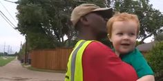 Watch The Sweet Moment A Toddler Says Goodbye To Family Garbage Man, His 'First Friend'