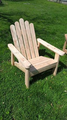 Recycled Pallet Adirondack Chairs   99 Pallets                                                                                                                                                                                 More