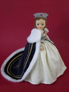 princess margaret rose doll   1959 Madame Alexander Cissy Doll Queen with Specially Made Coronation ...
