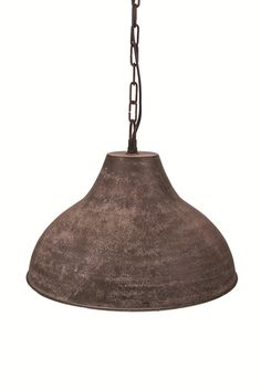 Casa-Uno-Nomad-Hanging-Pendant-Light-Iron-Dark-Grey-Rusted-Ceiling-Lamp-NEW