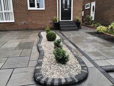 Low Maintenance Garden Design, Landscaping, Sidewalk, Building, Side Walkway, Buildings, Sidewalks, Landscape Architecture, Garden Design