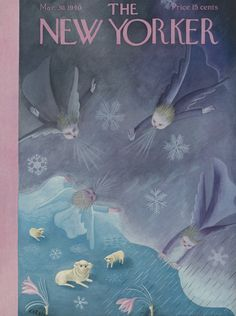 The New Yorker - Saturday, March 30, 1940 - Issue # 789 - Vol. 16 - N° 7 - Cover by : Ilonka Karasz