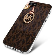 Michael Kors Logo Brown iPhone 4 5 5c 6 Plus Case, Samsung Galaxy S3 S4 S5 S6 Edge Note 3 4 5 Case, iPod 4 5 Case, HtC One M7 M8 M9 and Nexus Case