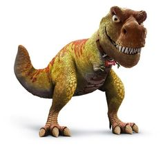 This is an acceptable T-Rex. This a T-rex for eating people that we do not like.
