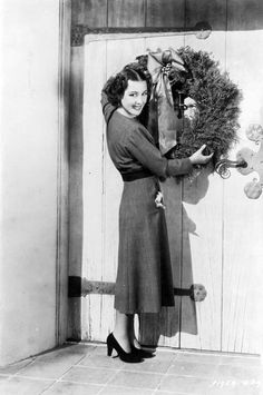 "myvintagevogue: "" GLADYS SWARTHOUT 1936 ""Oh to be so glamorous even when decorating......."
