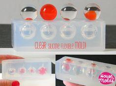 15 mm Multi esfera clara molde molde de esferas de 15 mm de 4