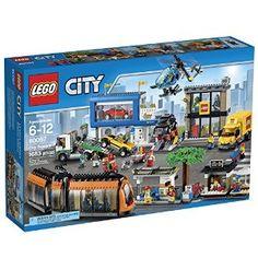 Amazon.com: LEGO City Town 60097 City Square Building Kit: Toys & Games