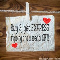 Buy 3 Get EXPRESS SHIPPING by NesrinArt on Etsy