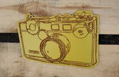 vintage camera wall hanging - for camera lovers - gift for photographers - under 20 dollar gift on Etsy, $15.00