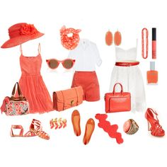 Mad Woman's To Do List: Fashion Friday: Cool Coral