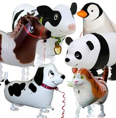 National DealTicker deal of the day -- Walking Animal Balloons! OR A) $30 for 4 OR B) $16 for 2