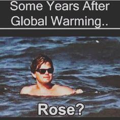 Rose I'm back #titanic #funnyaf #imback #jackandrose #420