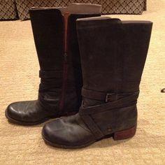 REDUCED Boots 8.5 DK Olive Green Naya Dark Olive Green Naya Boots NWOT Shoes