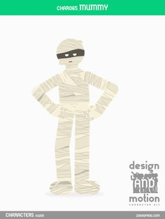 CHAR065_Mummy. Part of D&M Character Kit.