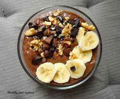 Dietetyczne śniadania Healthy Sweets, Healthy Snacks, Healthy Eating, Sweet Recipes, Vegan Recipes, Oatmeal, Food And Drink, Health Fitness, Lunch