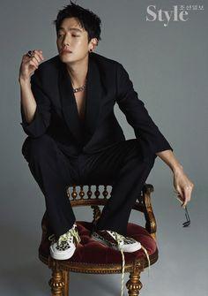 """ For Style Chosun 💕"" Korean Male Actors, Asian Actors, Autumn Fashion Casual, Casual Fall, Dramas, Kang Haneul, Male Models Poses, Asian Hotties, Actors & Actresses"