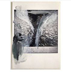 New work in progress / Oil, gouache, acrylic, baryte print #painting #paint #filmphotography #workinprogress #art