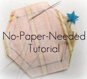 ŠABLONY k vytištění This is one of the best tutorials I have come across in a long time. I love English Paper Piecing but hate the paperes one needs to use. Quilting Tips, Quilting Tutorials, Patchwork Quilting, Hexagon Quilting, Hexagon Quilt Pattern, English Paper Piecing, Paper Piecing Patterns, Quilt Patterns, Patchwork Patterns