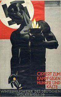 Hohlwein's propaganda poster of Nazi