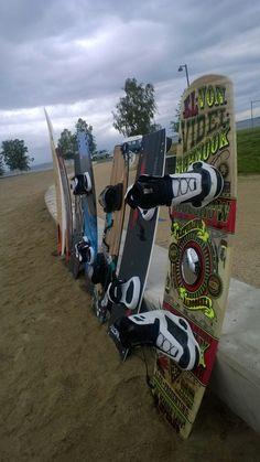 Wind surfers has arrived to Nallikari....