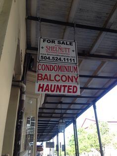 You have two options when you're looking for an apartment in the French Quarter Mob Psycho, Psycho 100, Dumb Dogs, Modern Magic, Second Option, First Draft, Jeepers Creepers, Southern Gothic, Night Vale