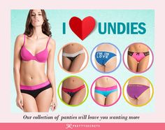 From hipster, bikini, boyshorts to thong & g-strings, we have got you covered.