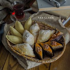 Azerbaijani sweets: Shekerbura, Badambura and Pakhlava #pakhlavateahouse #pakhlava #beatgroup #baku #azerbaijan #teahouse #chaikhana #nationalcuisine #traditionalcuisine #food #cuisine #badambura #shekerbura #desserts #sweets #baklava