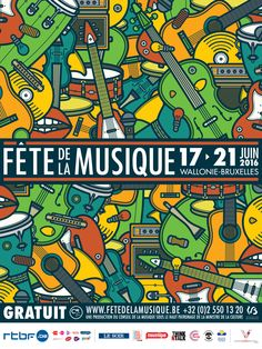 FÊTE DE LA MUSIQUE - Music Posters on Behance