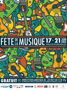FÊTE DE LA MUSIQUE - Music Posters on Behance