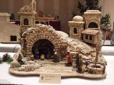 Jeannie Loader Fleury's media statistics and analytics – BuzzTMZ Nativity House, Nativity Stable, Diy Nativity, Christmas Nativity Scene, Christmas Villages, Christmas Cave, Christmas Crib Ideas, Christmas Projects, Christmas Lights