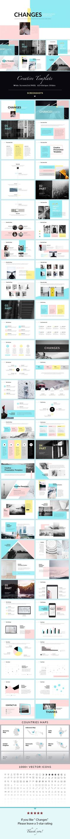 Changes - PowerPoint Presentation Template - Creative PowerPoint Templates