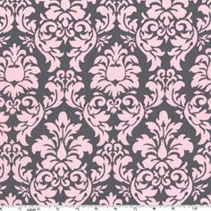 This listing is for: Michael Miller Dandy Damask Bloom Fabric - REMNANT Size 27 Inches by 44 Inches Riley Blake Designs, Medium Chevron Gray Fabric 6 yards Demask Wallpaper, Paper Background Design, Cotton Blossom, Baby Girl Bedding, Michael Miller Fabric, Teal And Gold, Grey Fabric, Pink Grey, Pale Pink