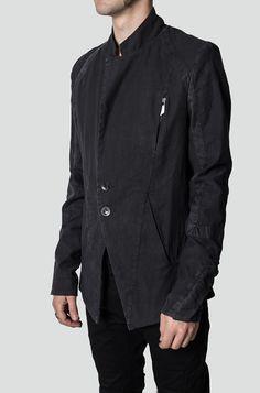 Preach   Cold dyed linen jacket   Orimono Berlin